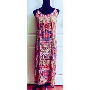 F.L..P. boho spaghetti strap maxi dress
